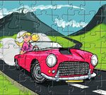 Barbie Car Puzzle